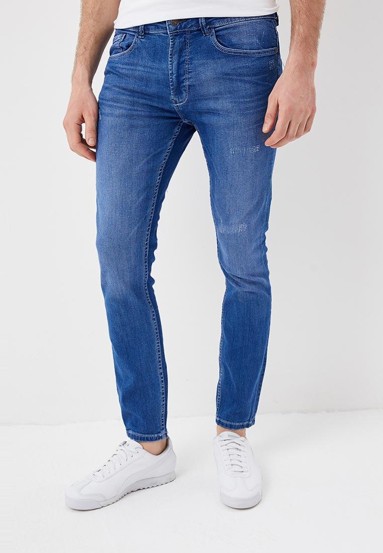 Зауженные джинсы Burton Menswear London 12K05MBLU