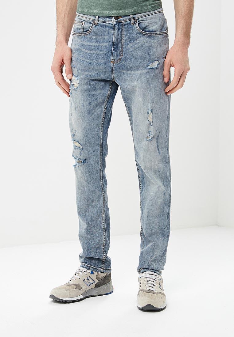 Зауженные джинсы Burton Menswear London 12L11MBLU