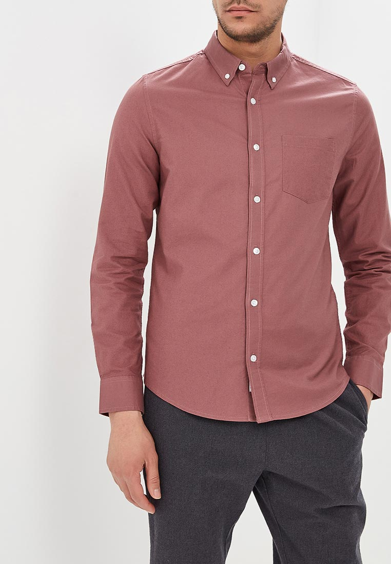 Рубашка с длинным рукавом Burton Menswear London 22O12MPNK