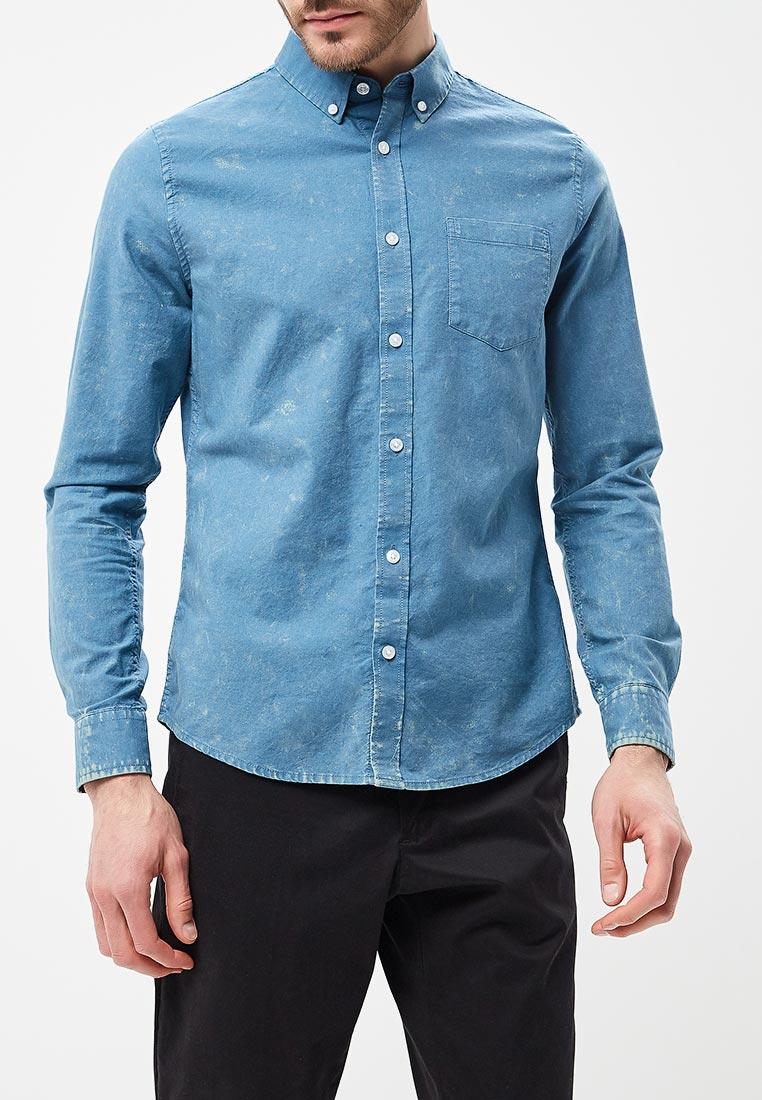 Рубашка с длинным рукавом Burton Menswear London 22O16MBLU