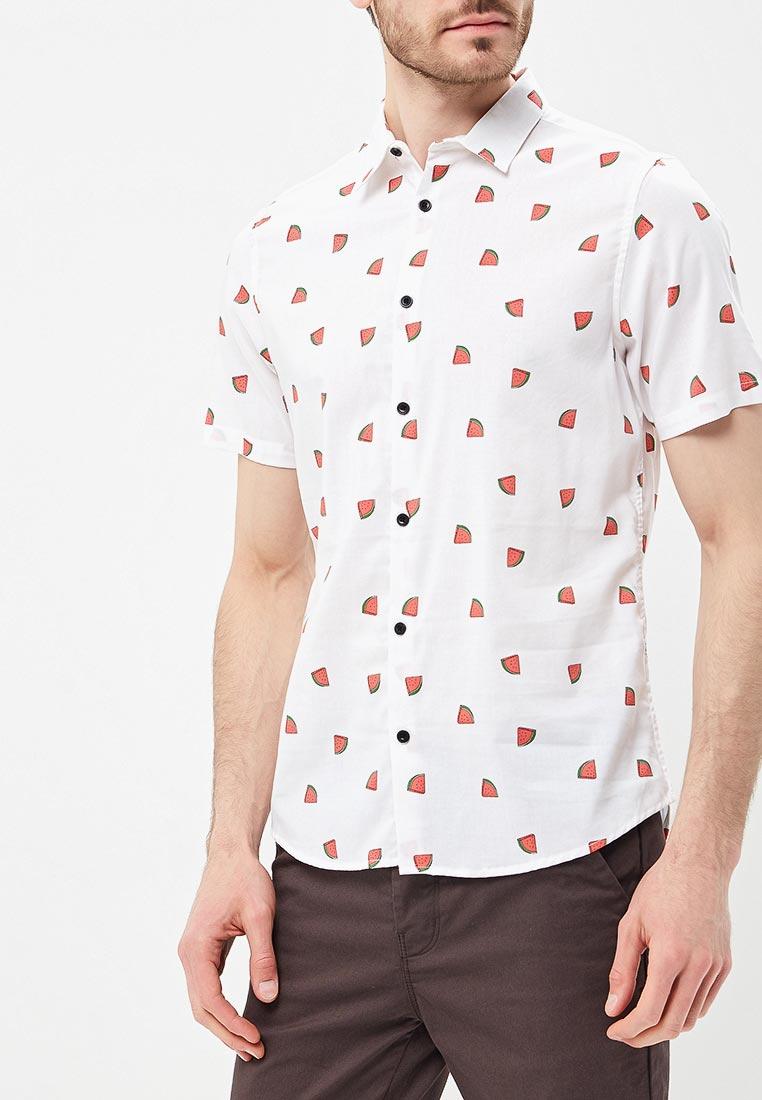 Рубашка с коротким рукавом Burton Menswear London 22P10MWHT