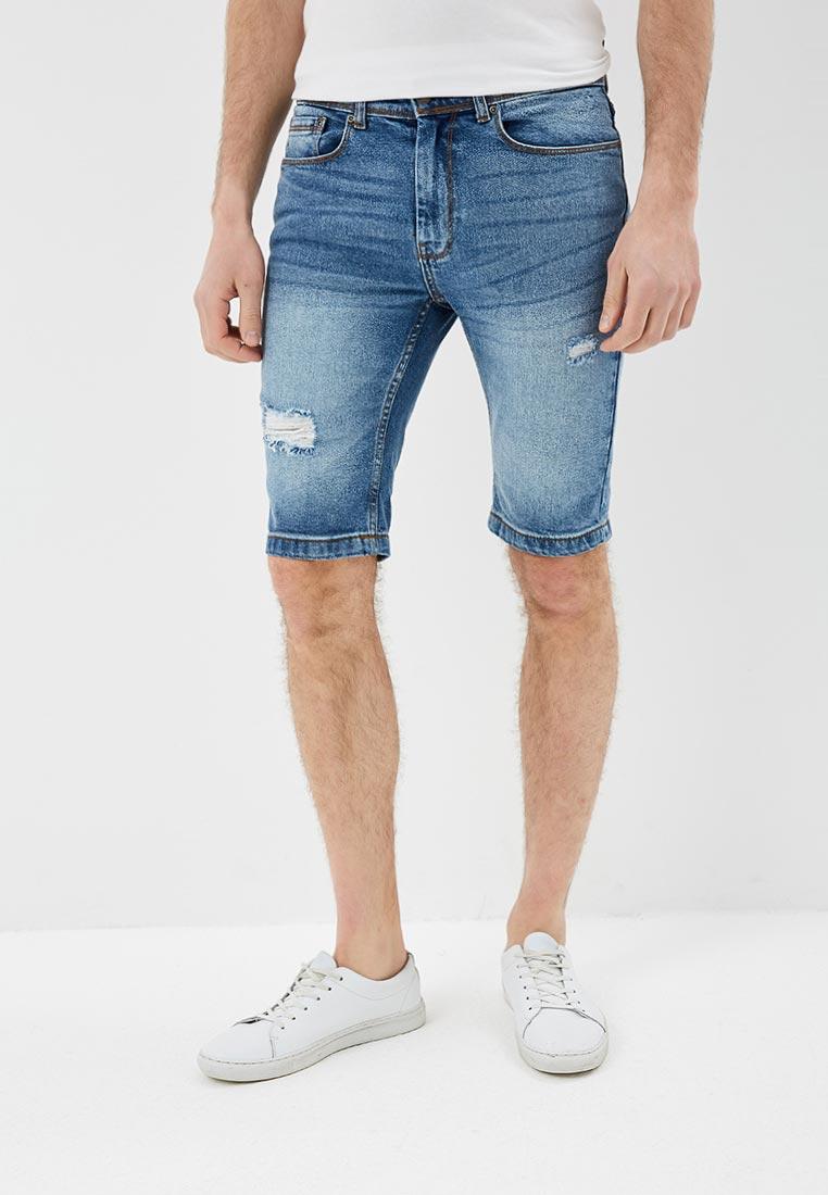 Мужские джинсовые шорты Burton Menswear London 88D03MBLU