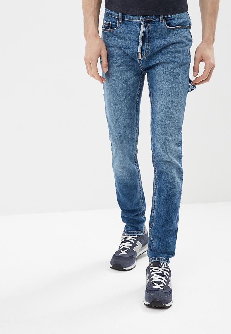 Зауженные джинсы Burton Menswear London 12A16MBLU
