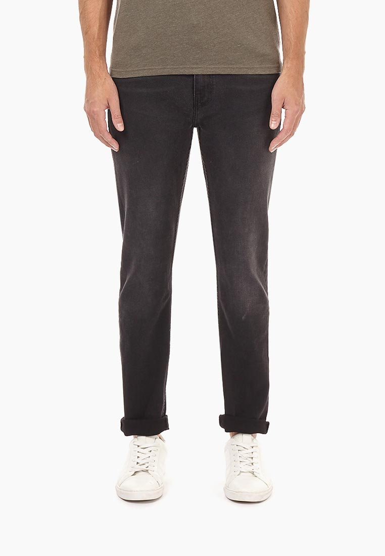 Зауженные джинсы Burton Menswear London 12L02MBLK