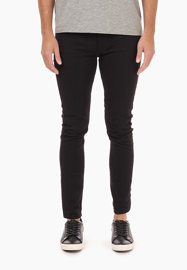 Зауженные джинсы Burton Menswear London 12S07MBLK