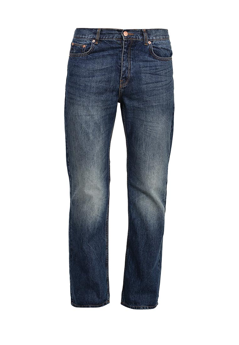 Мужские прямые джинсы Burton Menswear London 12B05IBLU