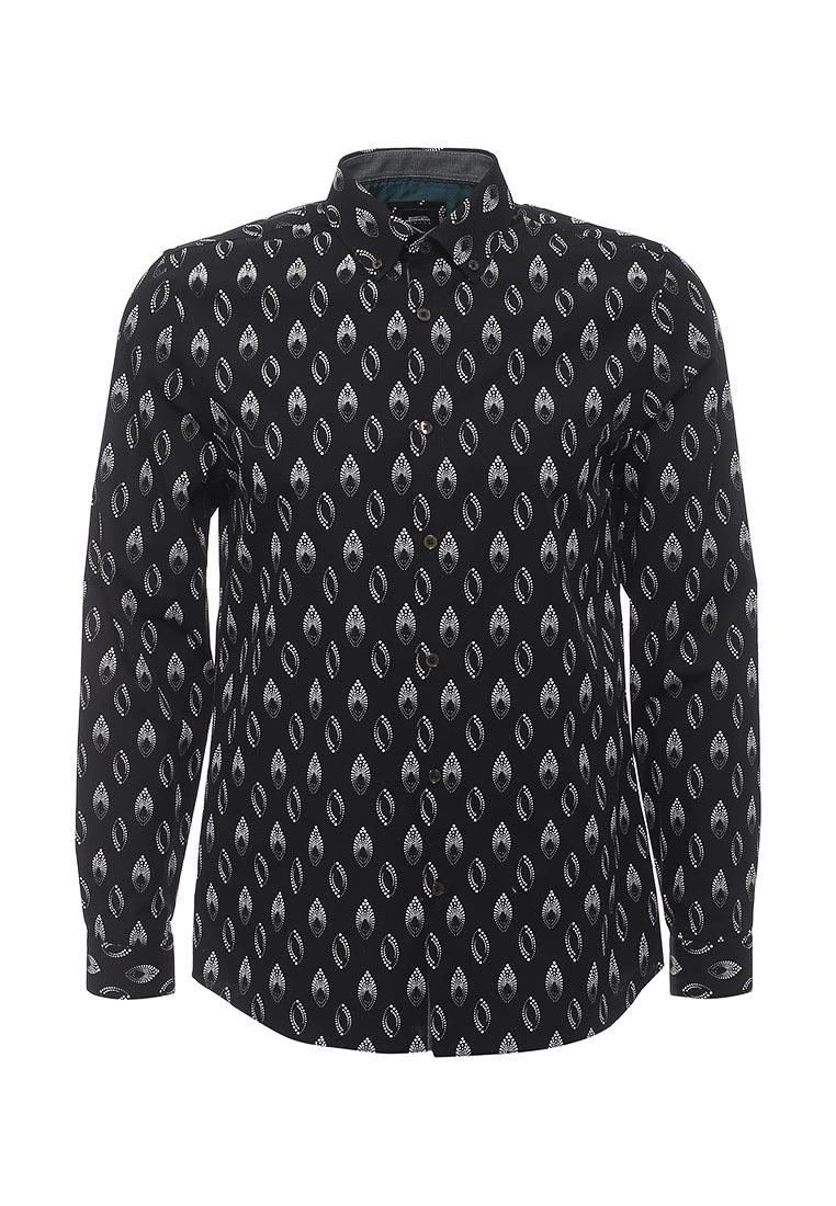 Рубашка с длинным рукавом Burton Menswear London 22P08JBLK