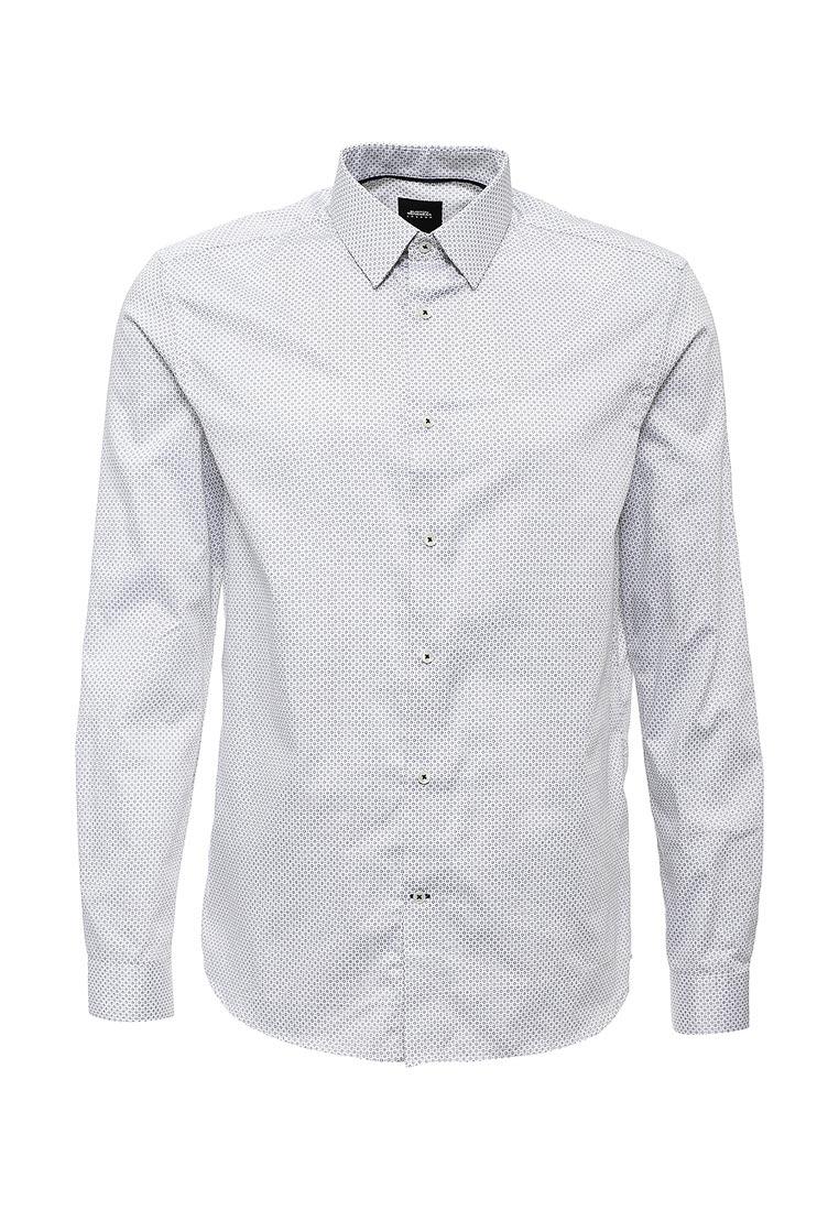 Рубашка с длинным рукавом Burton Menswear London 22P03IWHT