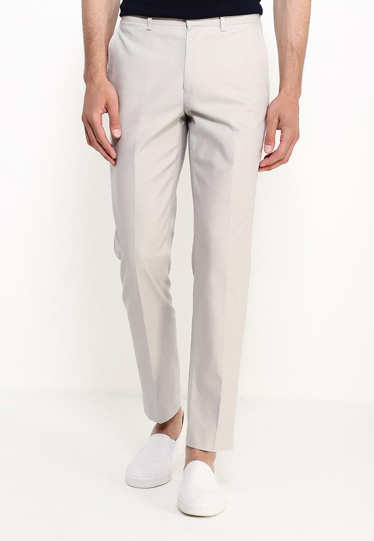 Мужские классические брюки Burton Menswear London 02S26IGRY: изображение 7