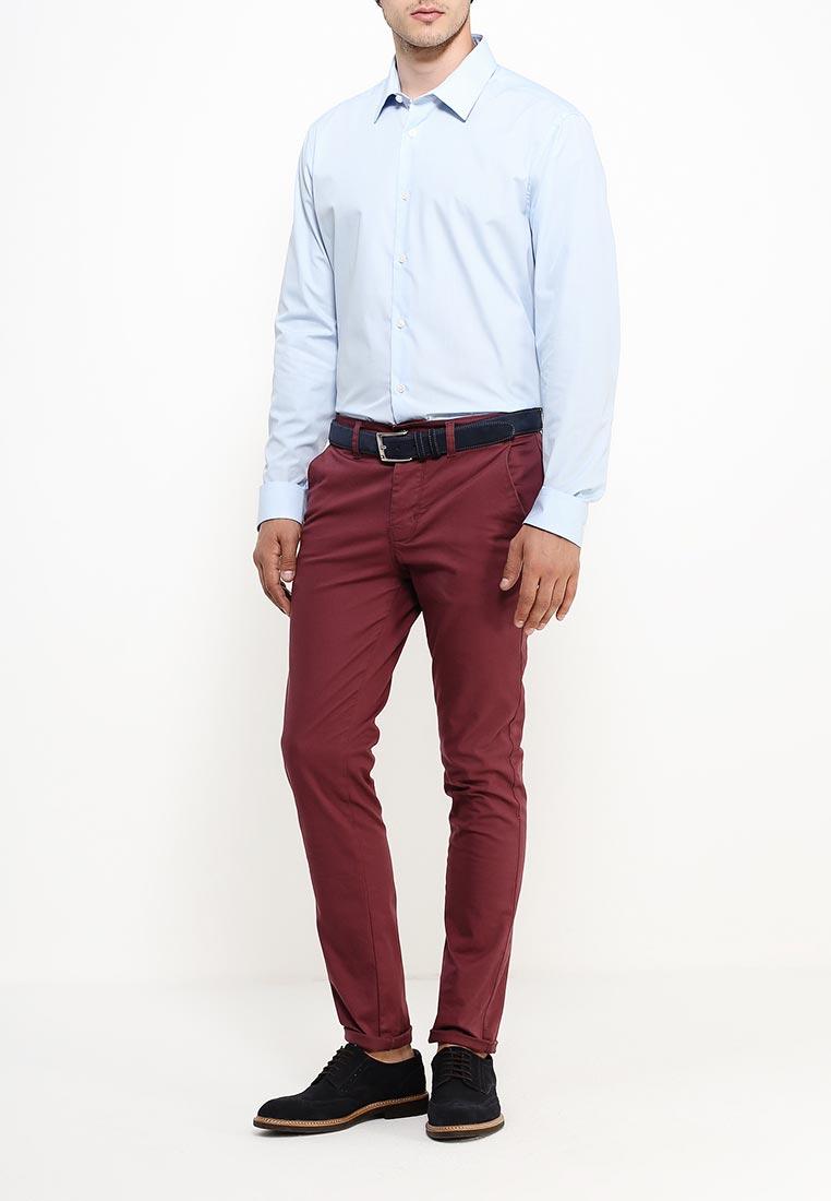 Рубашка с длинным рукавом Burton Menswear London 19B03IBLU: изображение 6