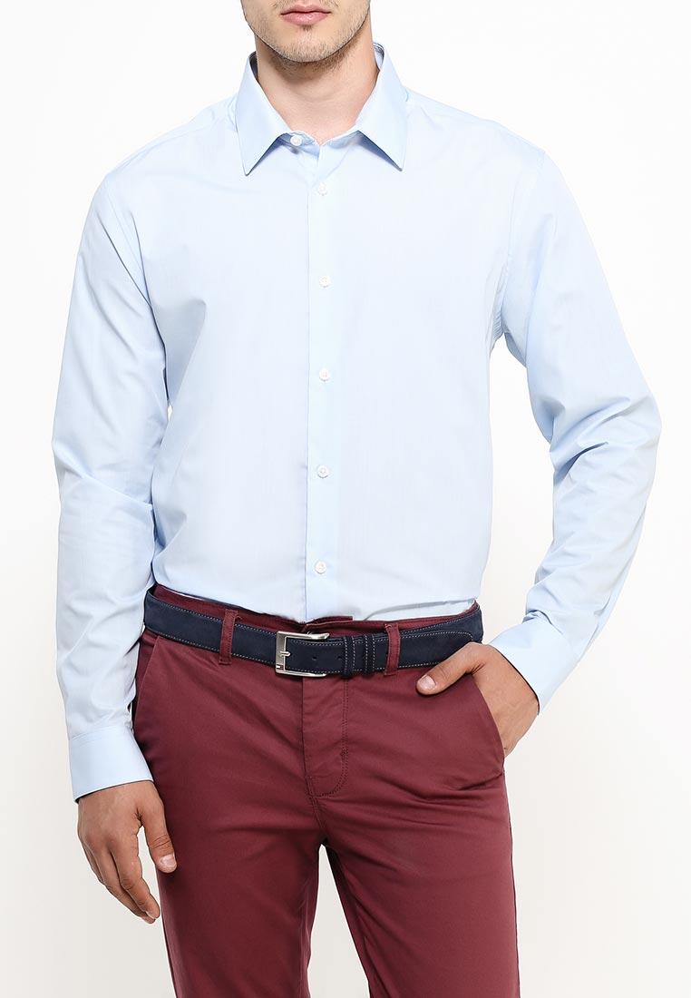 Рубашка с длинным рукавом Burton Menswear London 19B03IBLU: изображение 7