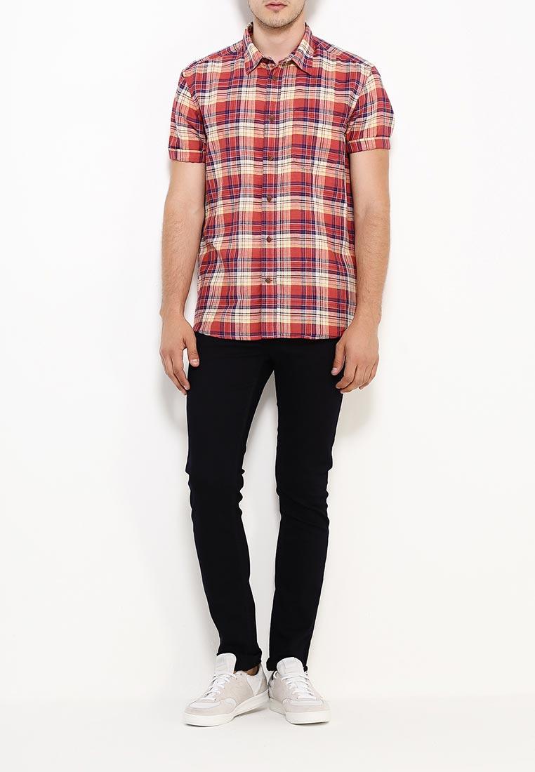 Рубашка с коротким рукавом Burton Menswear London 22C01IORG: изображение 6