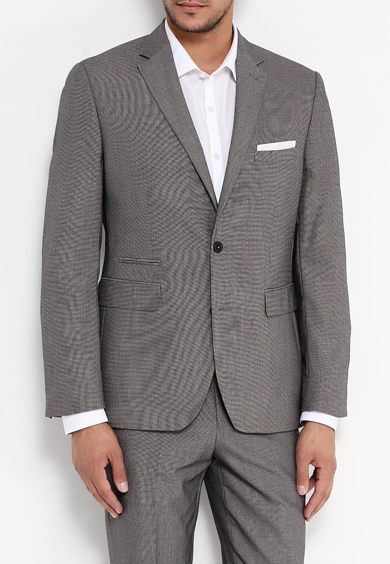 Пиджак Burton Menswear London 02T06HGRY: изображение 7