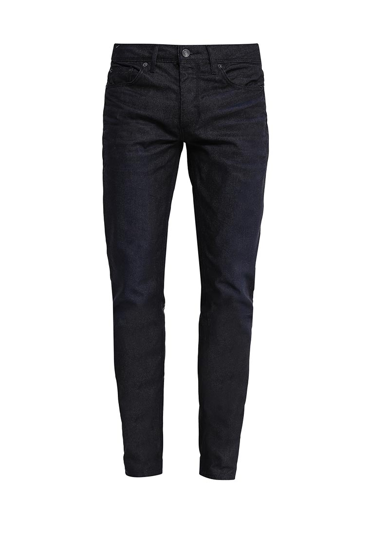 Зауженные джинсы Burton Menswear London 12A30IBLU