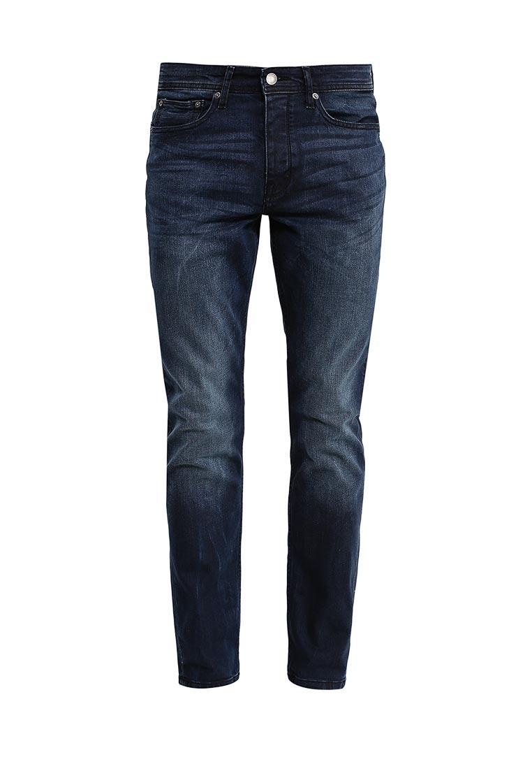 Зауженные джинсы Burton Menswear London 12S02JBLU