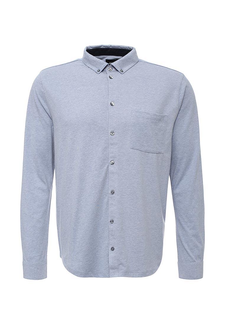 Рубашка с длинным рукавом Burton Menswear London 45J06IBLU: изображение 1