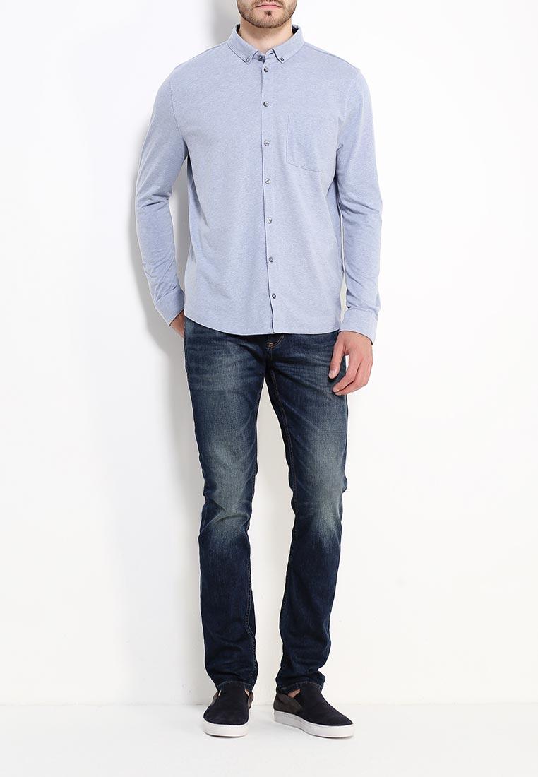 Рубашка с длинным рукавом Burton Menswear London 45J06IBLU: изображение 2