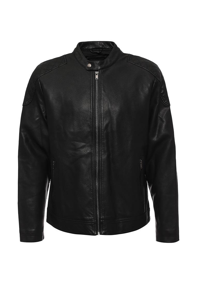Кожаная куртка Burton Menswear London 06L01JBLK: изображение 1