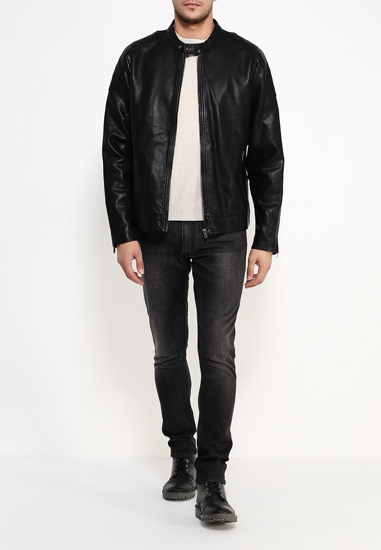 Кожаная куртка Burton Menswear London 06L01JBLK: изображение 2
