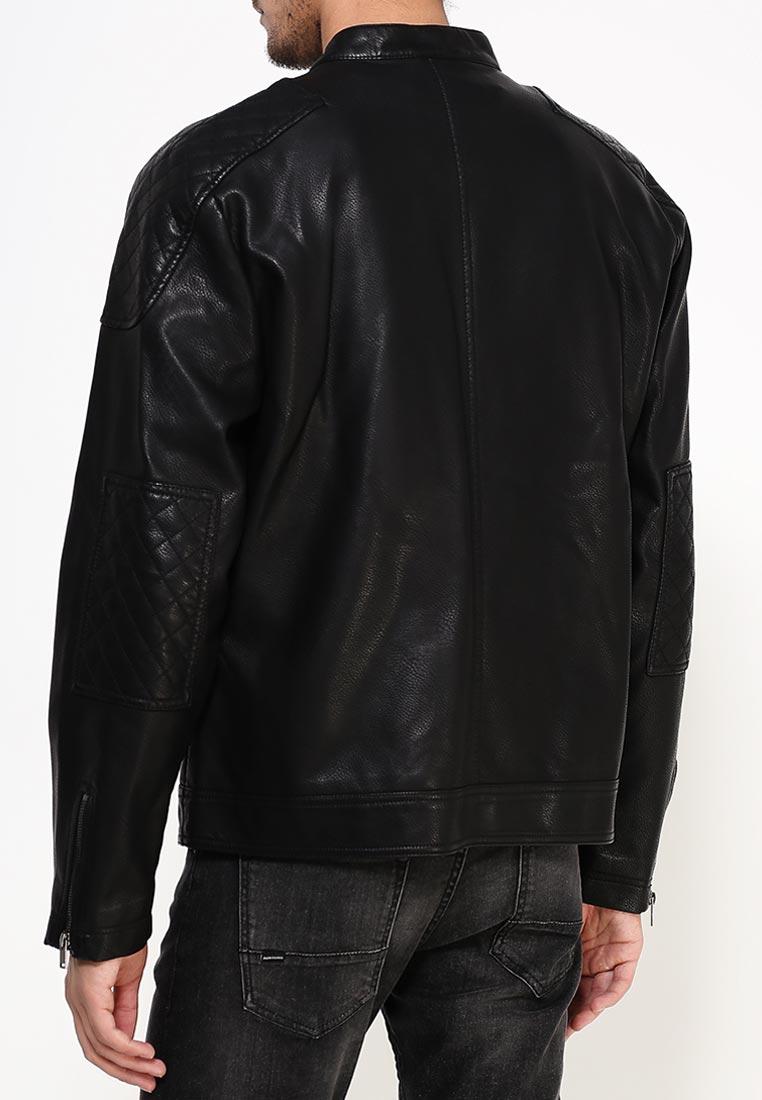 Кожаная куртка Burton Menswear London 06L01JBLK: изображение 4
