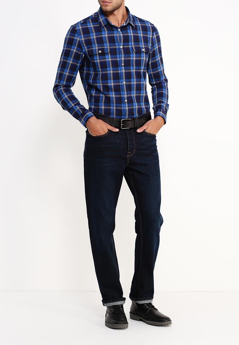 Рубашка с длинным рукавом Burton Menswear London 22C01JBLU: изображение 7