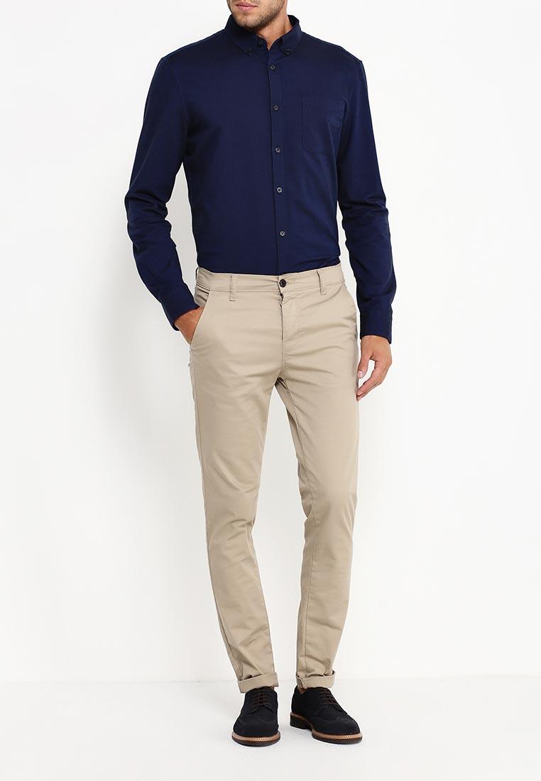 Рубашка с длинным рукавом Burton Menswear London 22O01JBLU: изображение 7