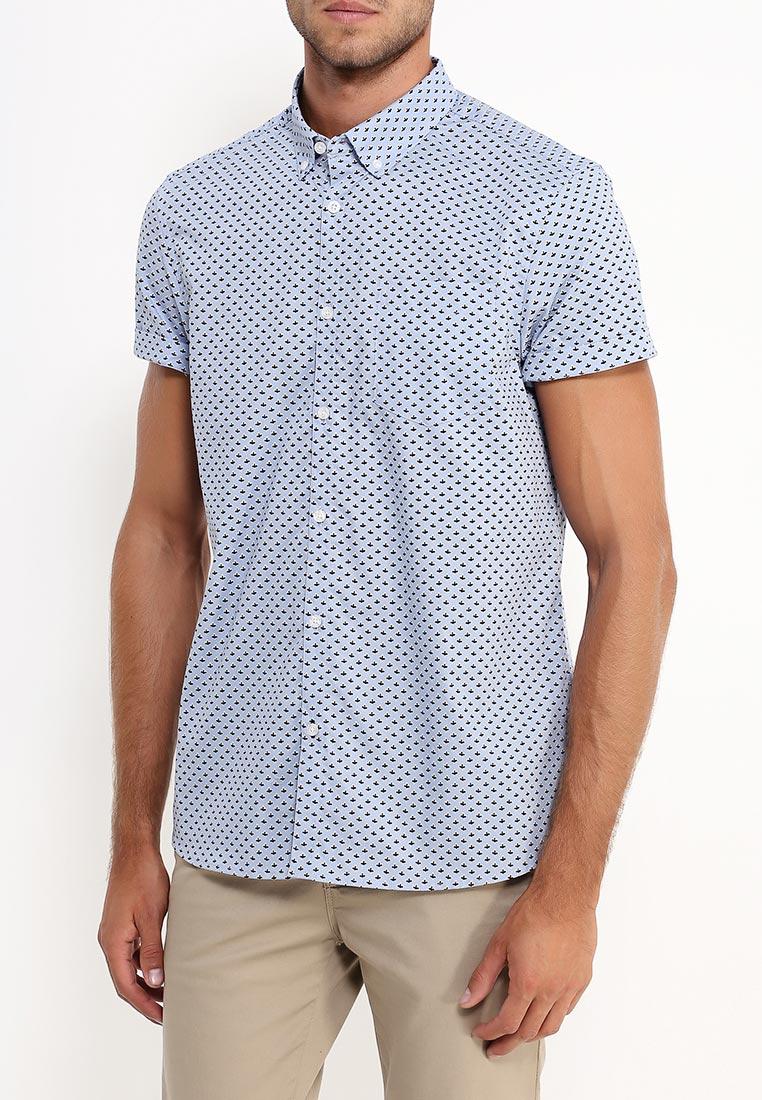 Рубашка с коротким рукавом Burton Menswear London 22P07JBLU: изображение 8