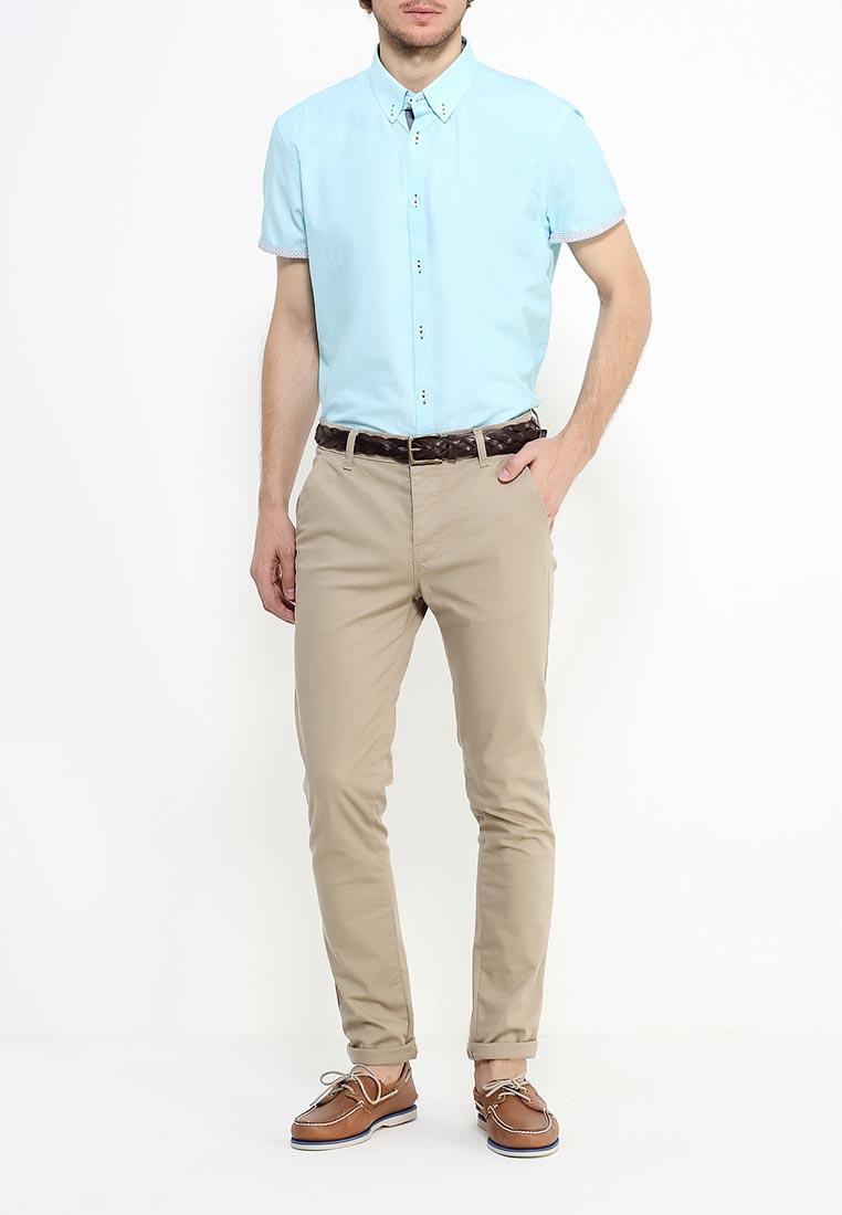 Рубашка с коротким рукавом Burton Menswear London 22D01JBLU: изображение 2