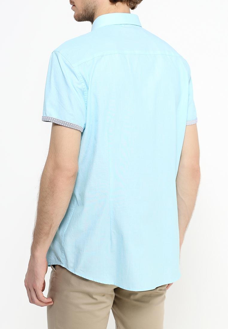 Рубашка с коротким рукавом Burton Menswear London 22D01JBLU: изображение 4