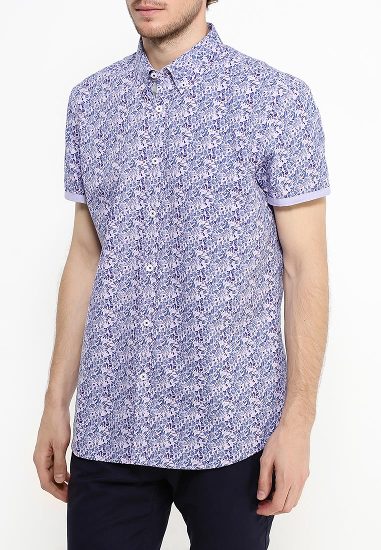 Рубашка с коротким рукавом Burton Menswear London 22P01JPUR: изображение 8