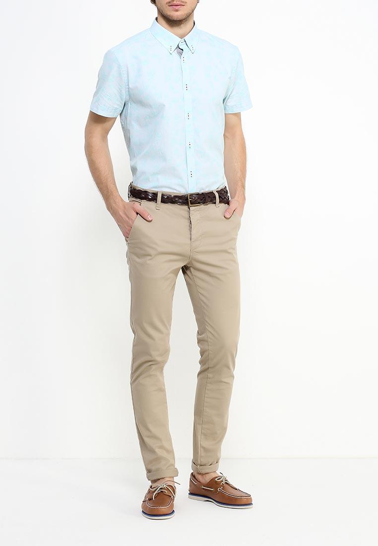 Рубашка с коротким рукавом Burton Menswear London 22P07JGRN: изображение 2