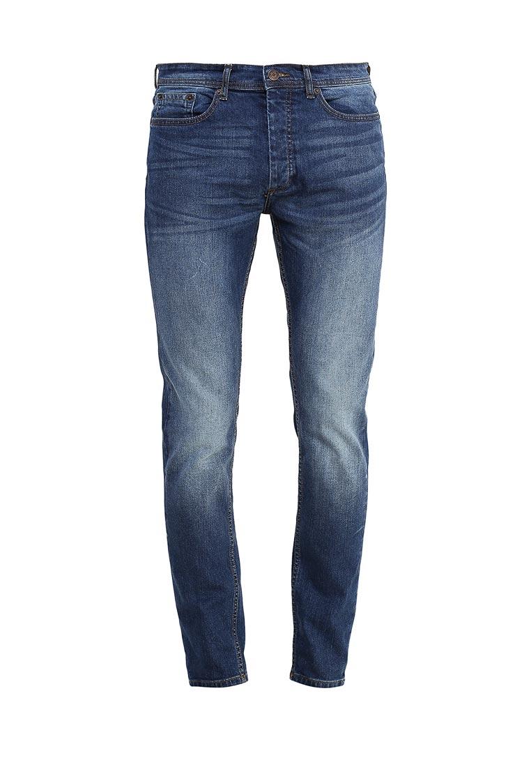 Зауженные джинсы Burton Menswear London 12S44JBLU: изображение 5