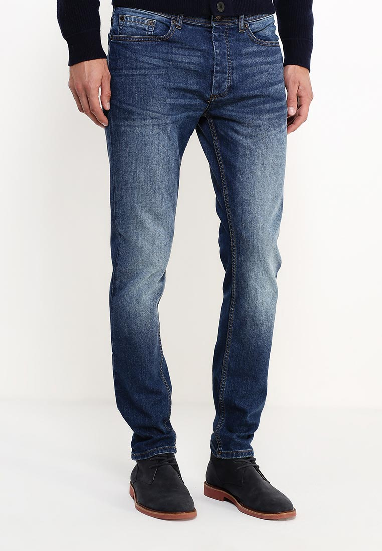 Зауженные джинсы Burton Menswear London 12S44JBLU: изображение 7