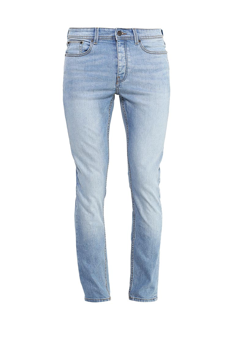 Зауженные джинсы Burton Menswear London 12S45JBLU