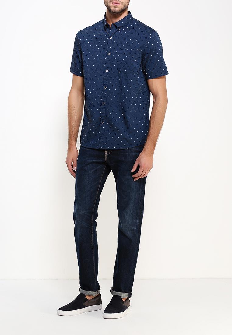 Рубашка с коротким рукавом Burton Menswear London 22D07JBLU: изображение 7