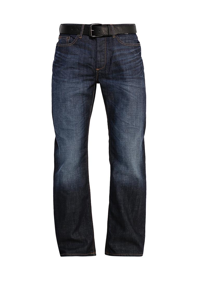 Мужские прямые джинсы Burton Menswear London 12R05JBLU