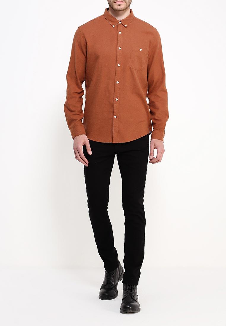 Рубашка с длинным рукавом Burton Menswear London 22P04JNAT: изображение 7