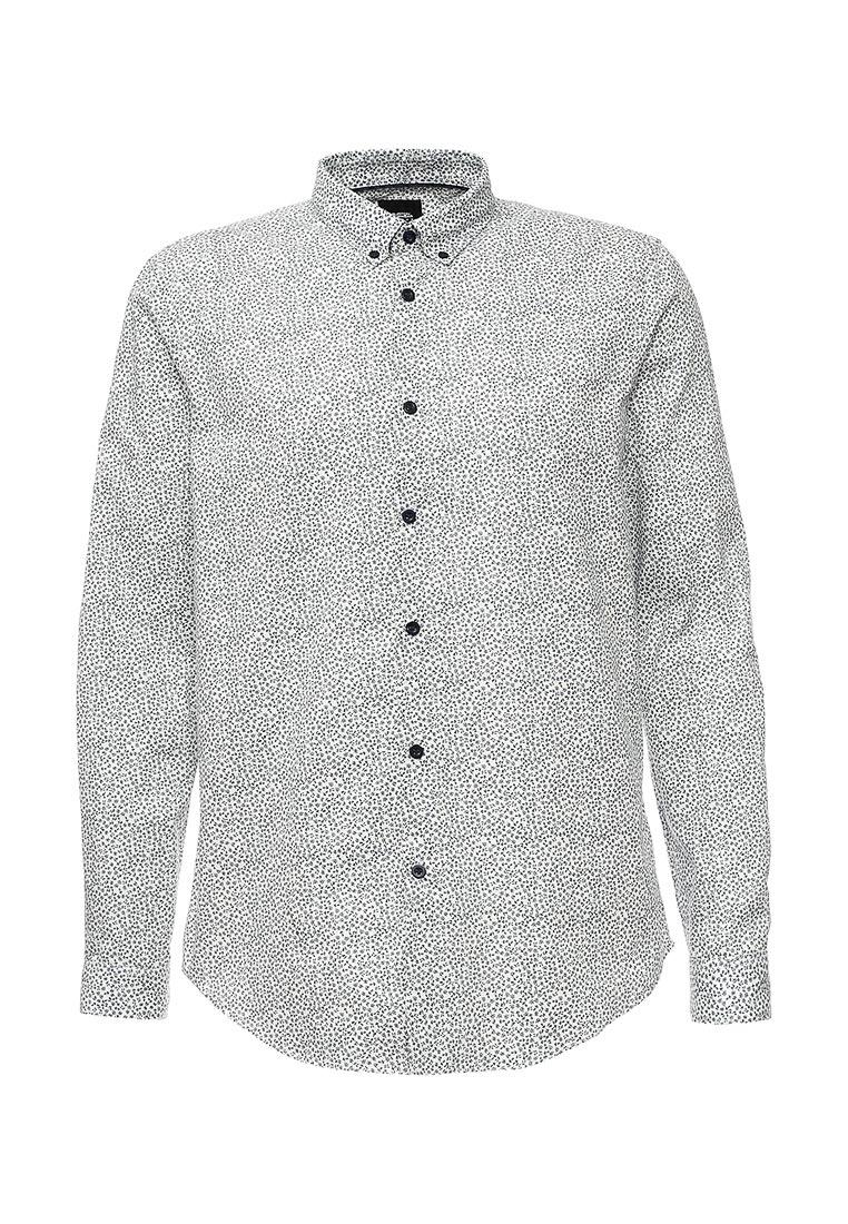 Рубашка с длинным рукавом Burton Menswear London 22D05JBLU: изображение 5