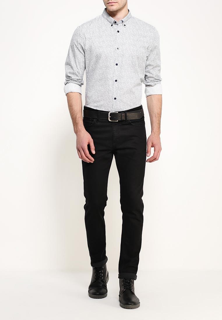 Рубашка с длинным рукавом Burton Menswear London 22D05JBLU: изображение 6