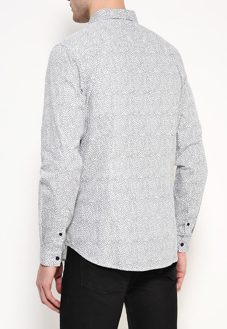 Рубашка с длинным рукавом Burton Menswear London 22D05JBLU: изображение 8
