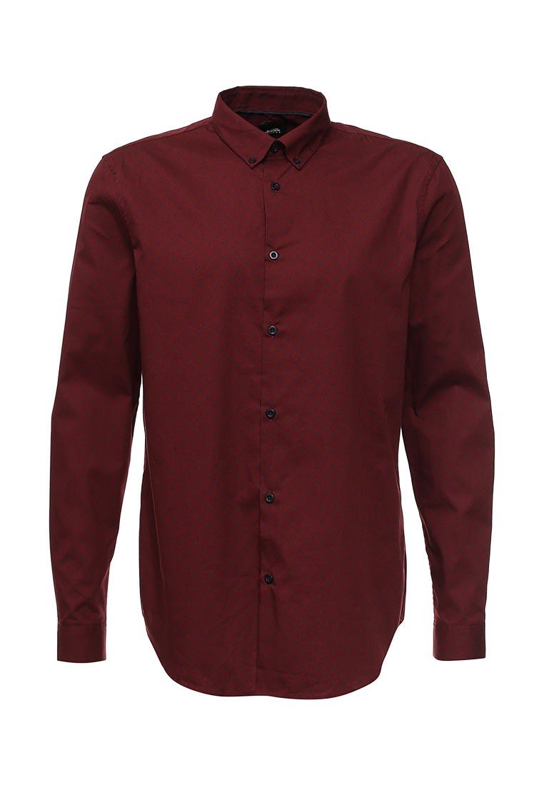 Рубашка с длинным рукавом Burton Menswear London 22D05JRED: изображение 5
