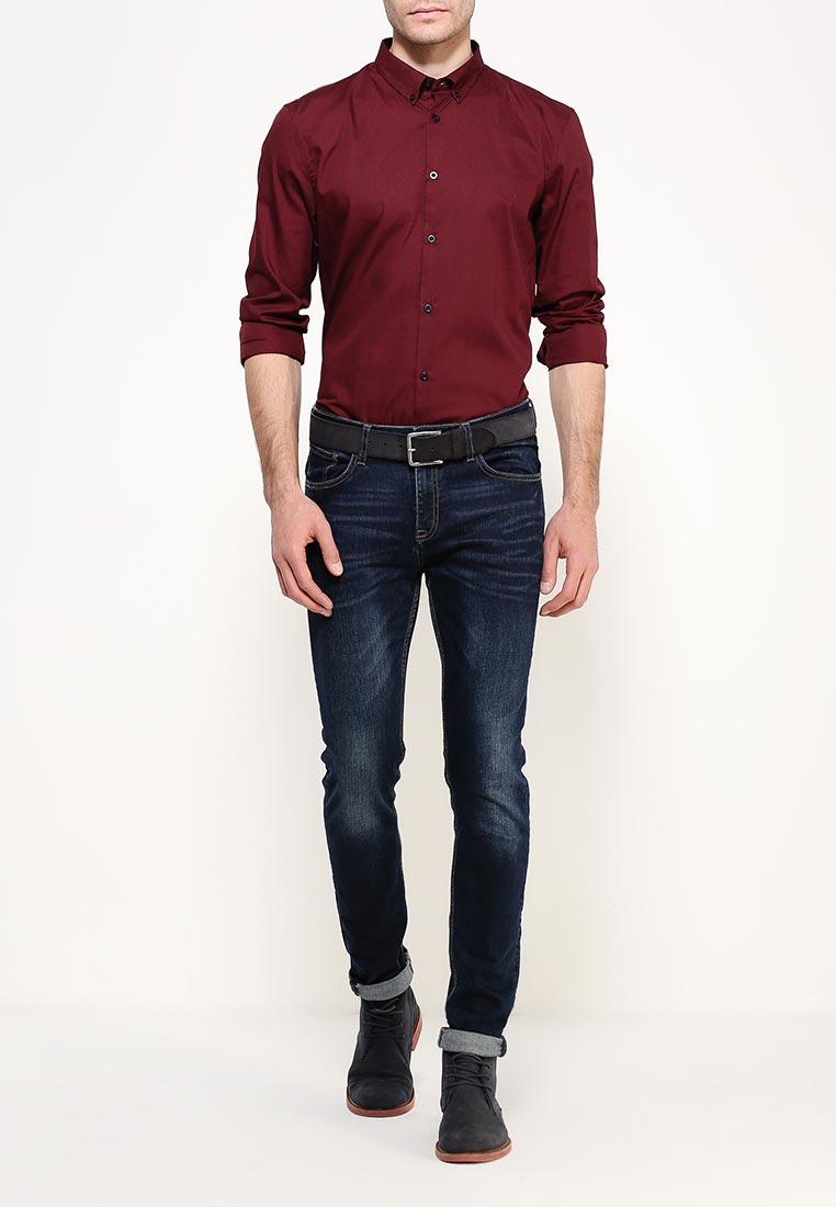 Рубашка с длинным рукавом Burton Menswear London 22D05JRED: изображение 6
