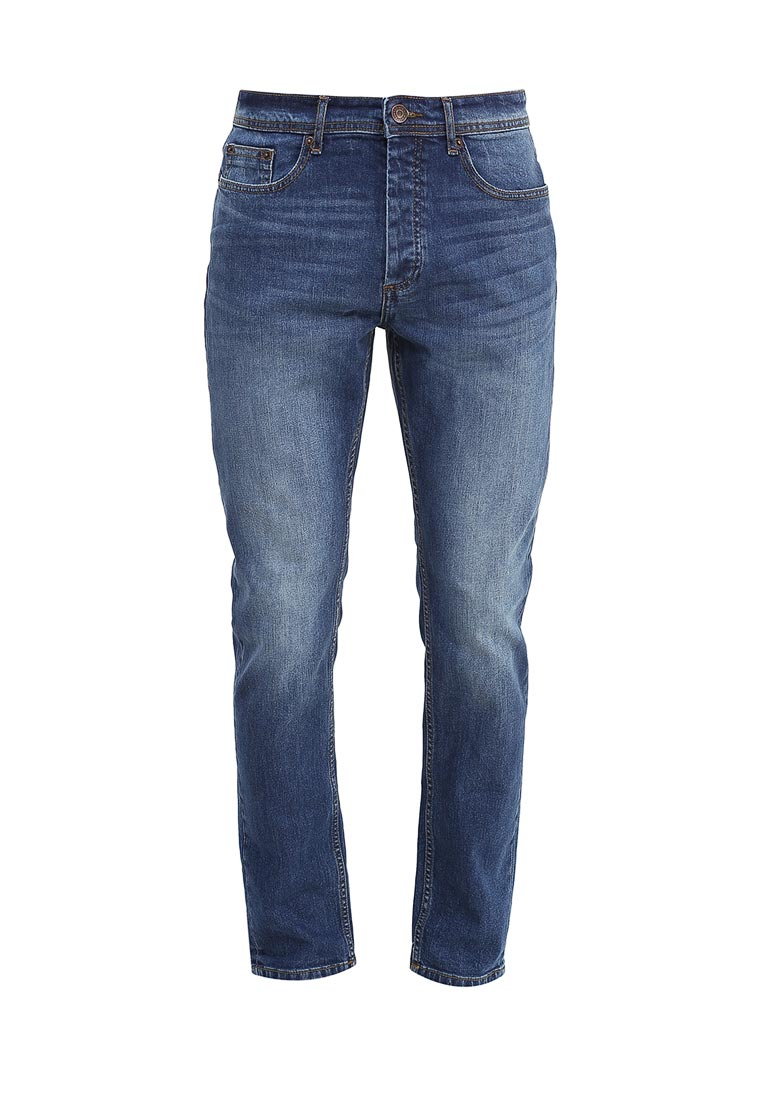 Зауженные джинсы Burton Menswear London 12S18JBLU