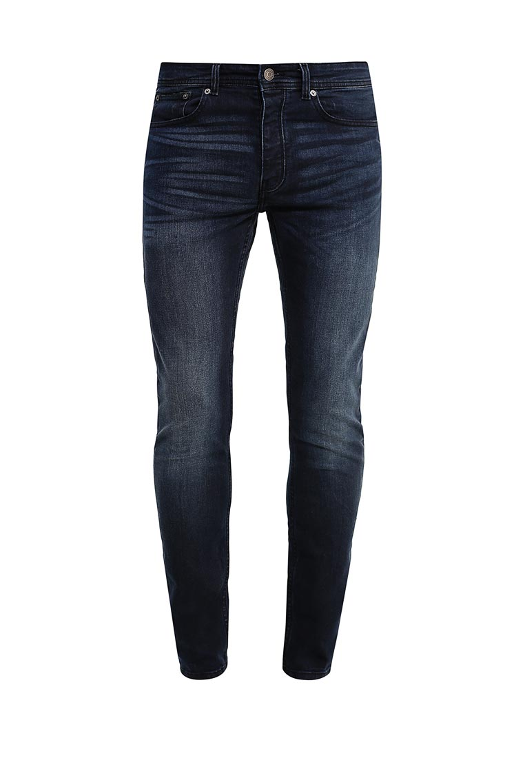 Зауженные джинсы Burton Menswear London 12S22JBLU