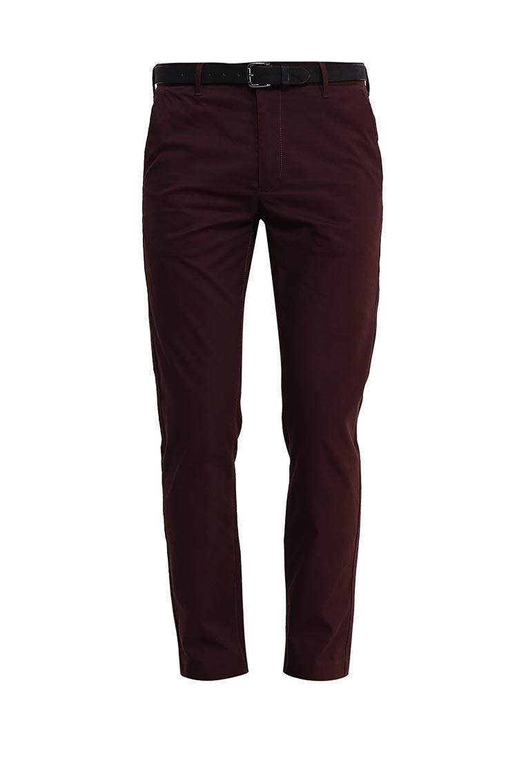Мужские повседневные брюки Burton Menswear London 23C04JRED