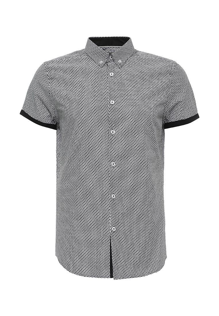 Рубашка с коротким рукавом Burton Menswear London 22D05JBLK