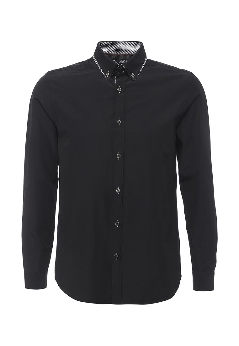 Рубашка с длинным рукавом Burton Menswear London 22D08JBLK