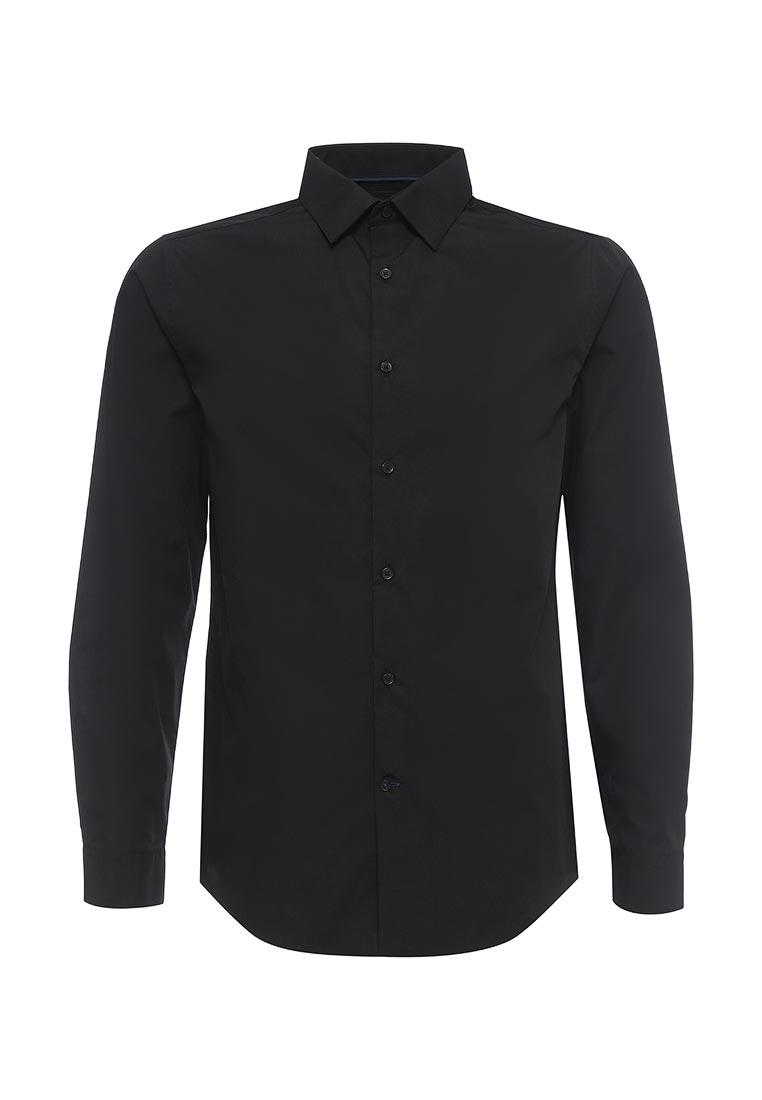 Рубашка с длинным рукавом Burton Menswear London 19B09IBLK