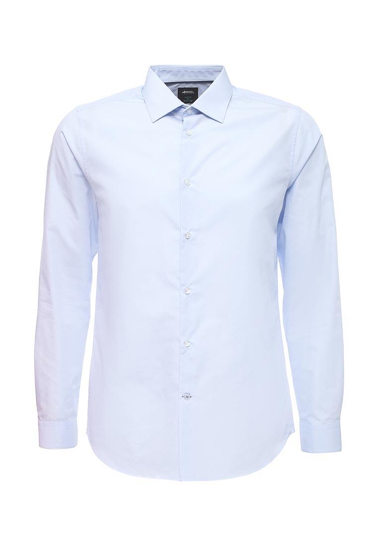 Рубашка с длинным рукавом Burton Menswear London 19E05KBLU