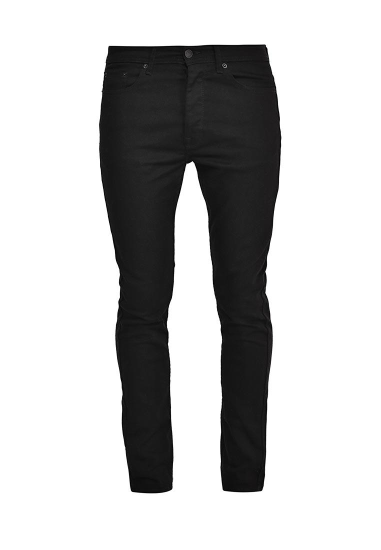 Зауженные джинсы Burton Menswear London 12S07KBLK